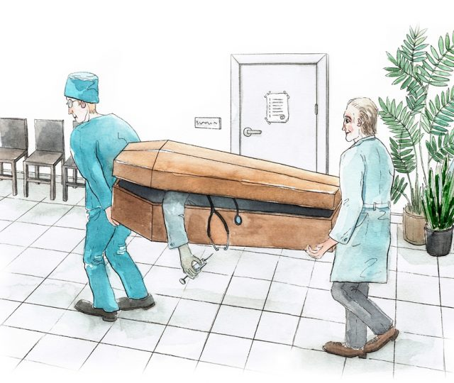 Valodas pērle, Darbinieku apbedīšanas pakalpojumi: no darba uz kapa vietu, Skrivanek Baltic