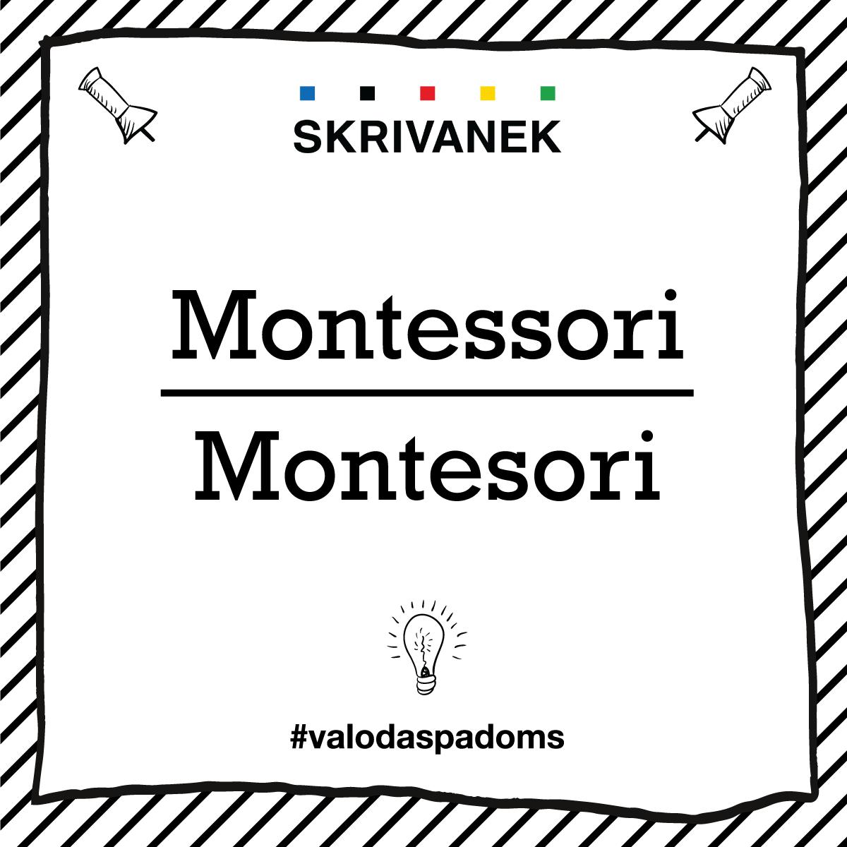 "Skrivanek Baltic valodas padoms ""Montessori"" pret ""Montesori"""