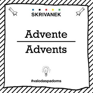 "Skrivanek Baltic valodas padoms ""Advente"" pret ""Advents"""