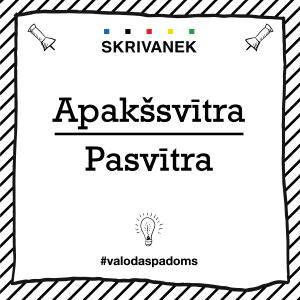 """Skrivanek Baltic valodas padoms """"Apakšsvītra"""" pret """"Pasvītra"""""""