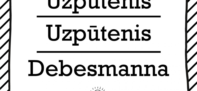 """Skrivanek Baltic valodas padoms """"Uzputenis"""" pret """"Uzpūtenis"""" pret """"Debesmanna"""