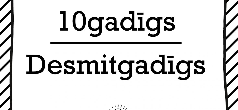 """Skrivanek Baltic valodas padoms """"10gadīgs"""" pret """"Desmitgadīgs"""""""