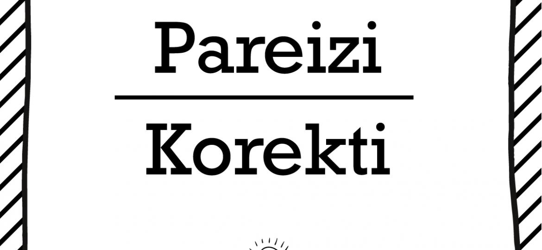 """Skrivanek Baltic valodas padoms """"Pareizi"""" pret """"Korekti"""""""