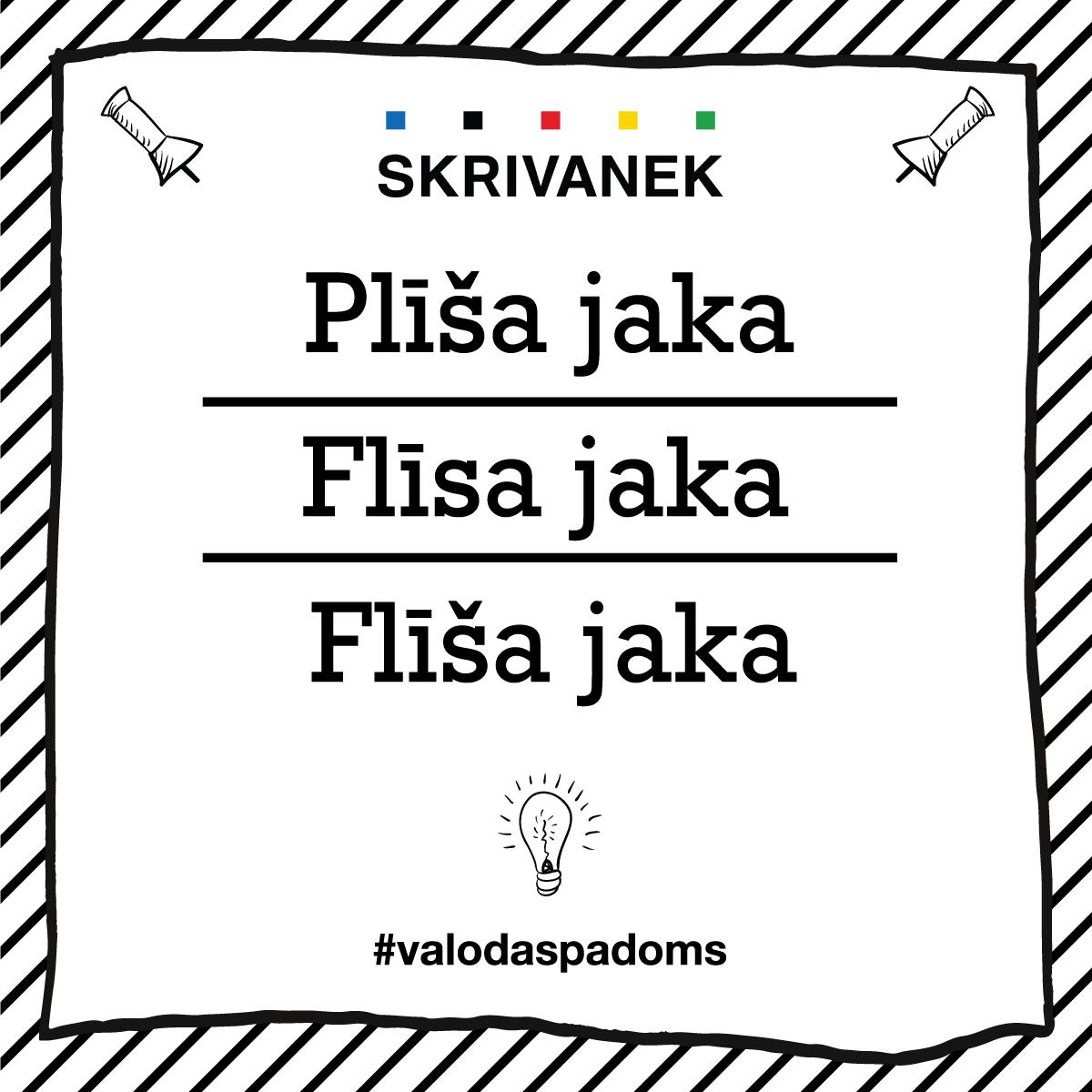 """Skrivanek Baltic valodas padoms """"Plīša jaka"""" pret """"Flīsa jaka"""" pret """"Flīša jaka"""""""