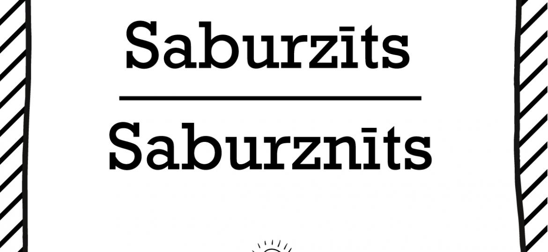 """Skrivanek Baltic valodas padoms """"Saburzīts"""" pret """"Saburznīts"""""""