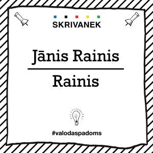 "Skrivanek Baltic valodas padoms ""Jānis Rainis"" pret ""Rainis"""