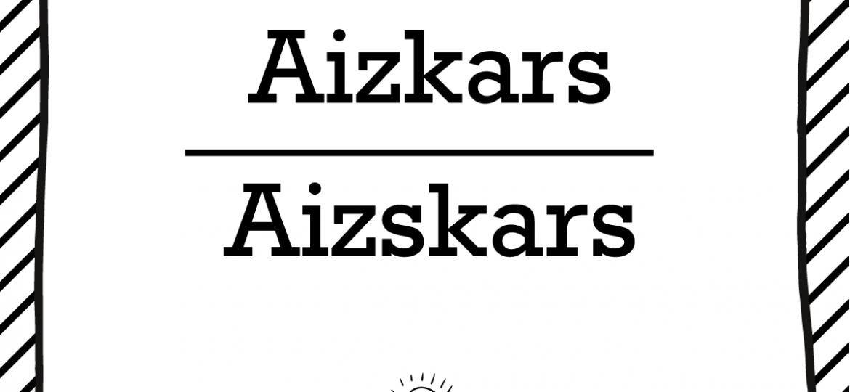 "Skrivanek Baltic valodas padoms ""Aizkars"" pret ""Aizskars"""
