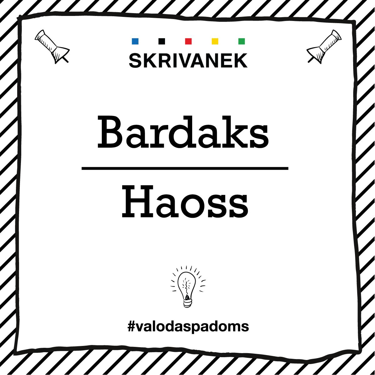"Skrivanek Baltic valodas padoms ""Bardaks"" pret ""Haoss"""