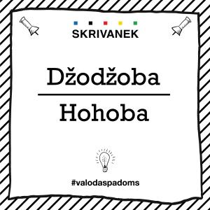 """Skrivanek Baltic valodas padoms """"Džodžoba"""" pret """"Hohoba"""""""