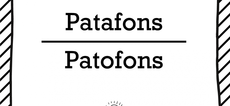 "Skrivanek Baltic valodas padoms ""Patafons"" pret ""Patofons"""