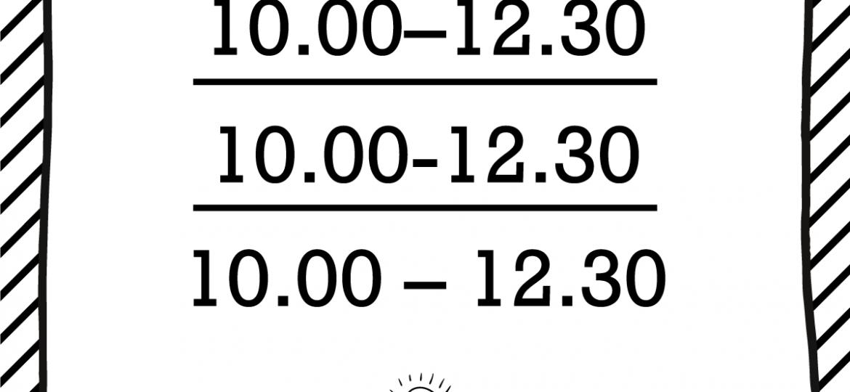 """Skrivanek Baltic valodas padoms """"10.00–12.30"""" pret """"10.00-12.30"""" pret """"10.00 – 12.30"""""""