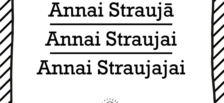 "Skrivanek Baltic valodas padoms ""Annai Straujā"" pret ""Annai Straujai"" pret ""Annai Straujajai"""