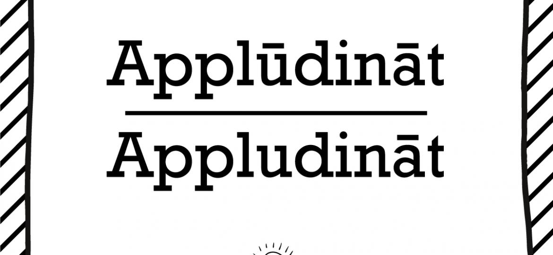"""Skrivanek Baltic valodas padoms """"applūdināt"""" pret """"appludināt"""""""