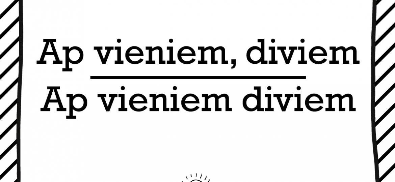 """Skrivanek Baltic valodas padoms """"ap vieniem diviem naktī"""" pret """"ap vieniem, diviem naktī"""""""