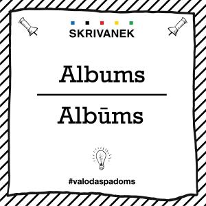 """Skrivanek Baltic valodas padoms """"Albums"""" pret """"Albūms"""""""