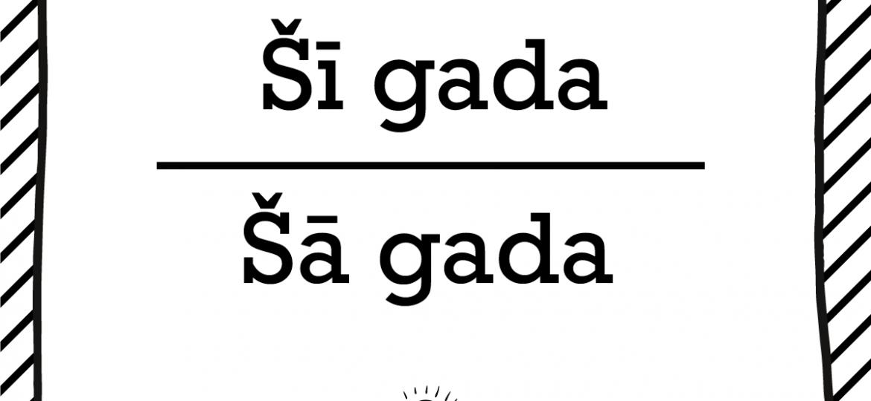"""Skrivanek Baltic valodas padoms """"Šī gada"""" pret """"Šā gada"""""""