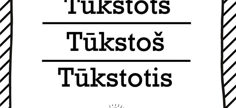 """Skrivanek Baltic valodas padoms """"Tūkstots"""" pret """"Tūkstoš"""" pret """"Tūkstotis"""""""